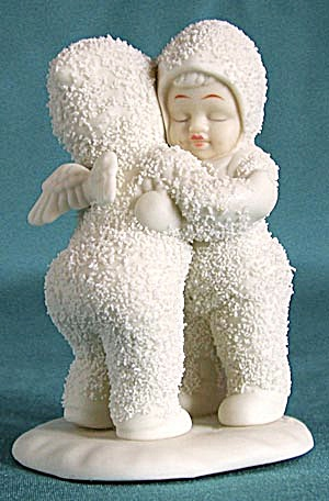 Retired Dept 56 Snowbabies: I Need A Hug