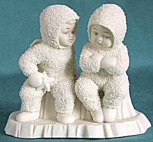Retired Dept 56 Snowbabies: This Will Cheer You Up