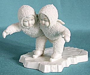 Retired Dept 56 Snowbabies: We Make A Great Pair