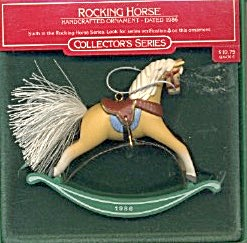 Vintage Hallmark Rocking Horse Ornament