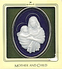 Hallmark Mother And Child Keepsake Ornament