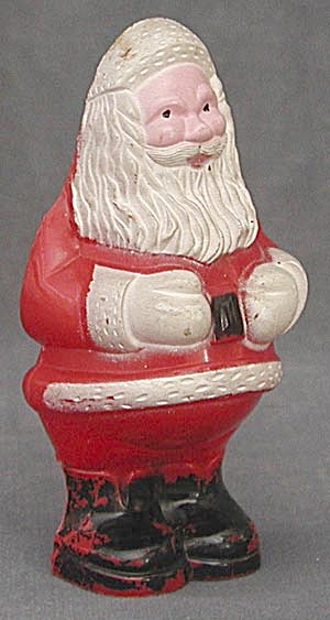 Vintage Santa Claus Christmas Ornament Light Covers