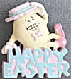 Hallmark Happy Easter Egg Pin