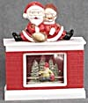 Mr. & Mrs. Santa Claus Snow Globe