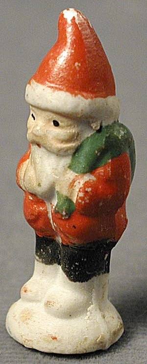 Santa Tiny Bisque Vintage