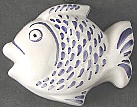 Vintage Ceramic Fish Decorative Mold