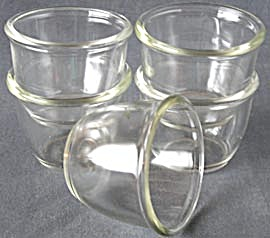 Vintage Pyrex Custard Cups Set Of 5