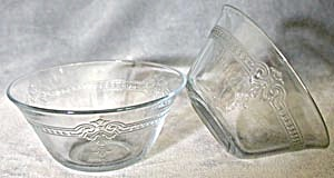 Vintage Fire King Custard Cups Pair