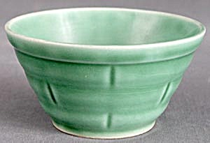 Vintage Green Mixing Bowl