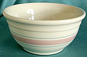 Vintage Pottery Mixing Bowl