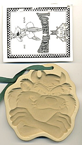 Tasmanian Devil Stoneware Cookie Mold