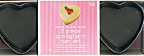 3 Piece Mini Springform Pan Set
