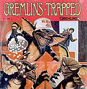 Gremlins Books And Records Set Of 2