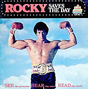 Rocky Saves The Day Record & Book