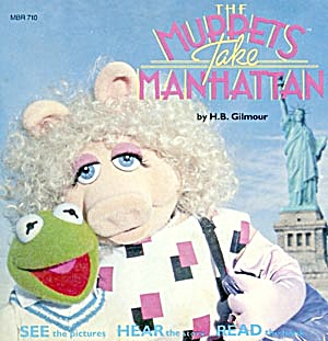The Muppets Take Manhattan Book And Record