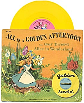 Walt Disney's Alice In Wonderland All In A Golden After