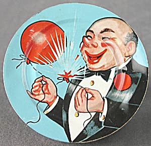 Vintage Balloon Popping Man Noise Maker