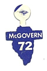 George Mcgovern Il Election Tab