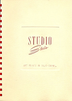 Studio Studies Art Prints In Talio-crome Limited Ed.