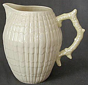 Irish Belleek Limpet Milk Pitcher