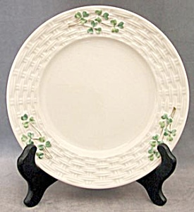 "Vintage Irish Belleek 7"" Shamrock Plate"