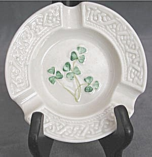 Vintage Irish Belleek Ashtray