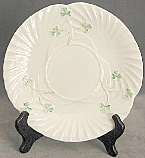 "Vintage Irish Belleek 8"" Plate"