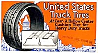 United States Truck Tires Blotter
