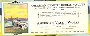 American Cement Burial Vaults
