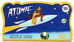 Vintage Atomic Needle & Threader Pack