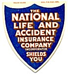 Vintage National Life Insurance Sewing Needle Book