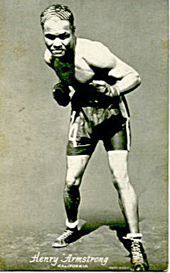 Henry Armstrong Boxing Exhibit Card