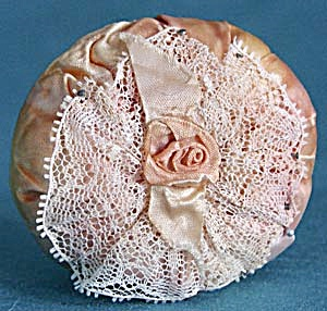 Vintage Satin Pin Cushion