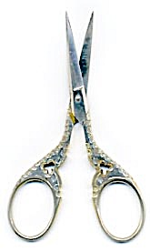 Vintage Lalto Solingen Embroidery Scissors