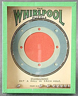 Vintage Whirlpool Dexterity Game Puzzle