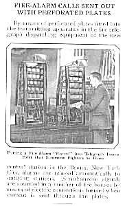 1924 Fire Nozzle/apparatus Mag. Article