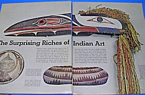 1971 Native American+ Indian Art Mag Article