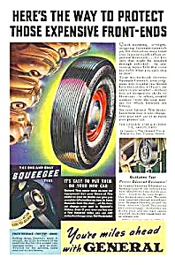 1939 General Tire Magazine Ad - Akron, Ohio
