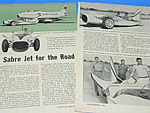 1957 Sabre Jet Automobile Magazine Article