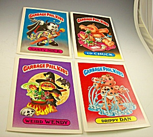 Lot 1986 First Series Giant Garbage Pail Kids Stickers Nasty Nick