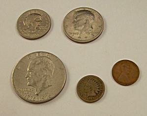 Lot Of Collectible Us Coins