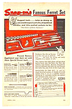 1949 Snap-on Tools Kenosha, Wisconsin