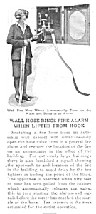 1929 Fire Alarm Rings - Wall Hose Magazine Article