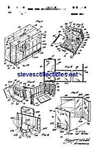 Patent Art: 1960s Barbie Dream House