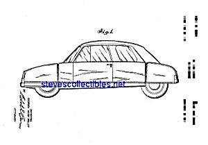 Patent Art: 1950s Muller Automobile B