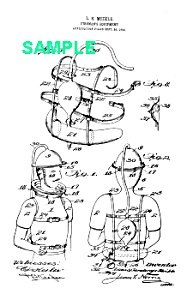 Patent Art: Early 1900s Fireman Equipment - Matted