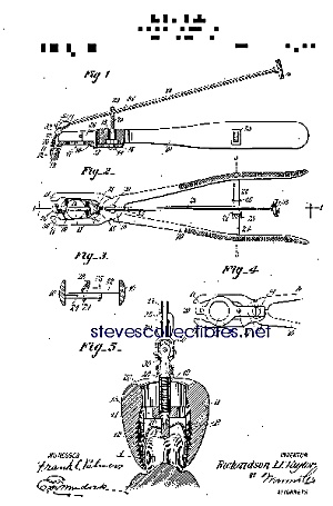 Patent Art: 1910s Dental Crown Remover - Matted Print