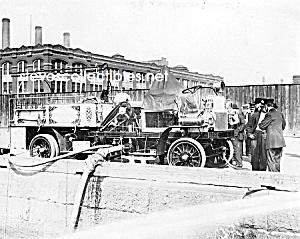 1911 Nyc Engine Fdny Fire Truck Photo - 8 X 10