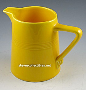 Vintage Harlequin Pottery Pitcher - Sunshine Yellow