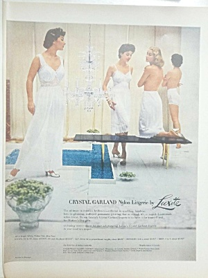 1955 Luxite Lingerie - Slips - Nylon Woman Ad